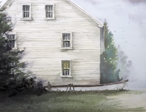 Ray Hendershot Exercise, Clapboard Siding: #1